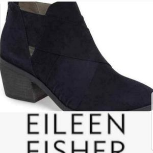 Eileen Fisher black booties